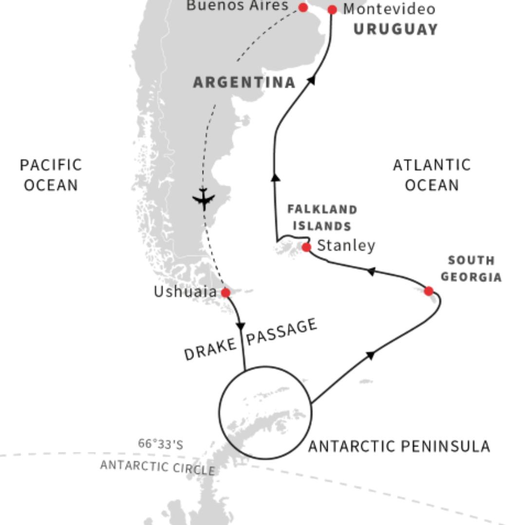 Antarctica-southgeorgia-falklands-cruisenorway