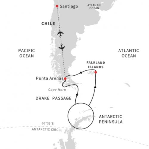 Chilean-fjords-Antarctica-Falklands-Cruisenorway