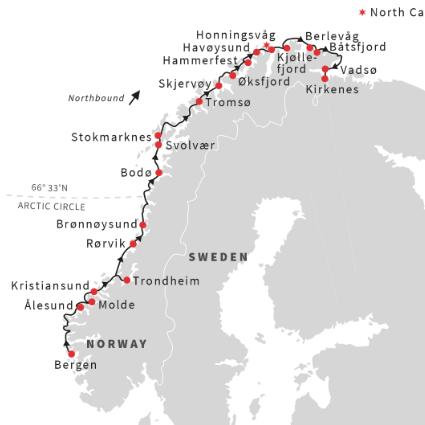 Norway Cruise North
