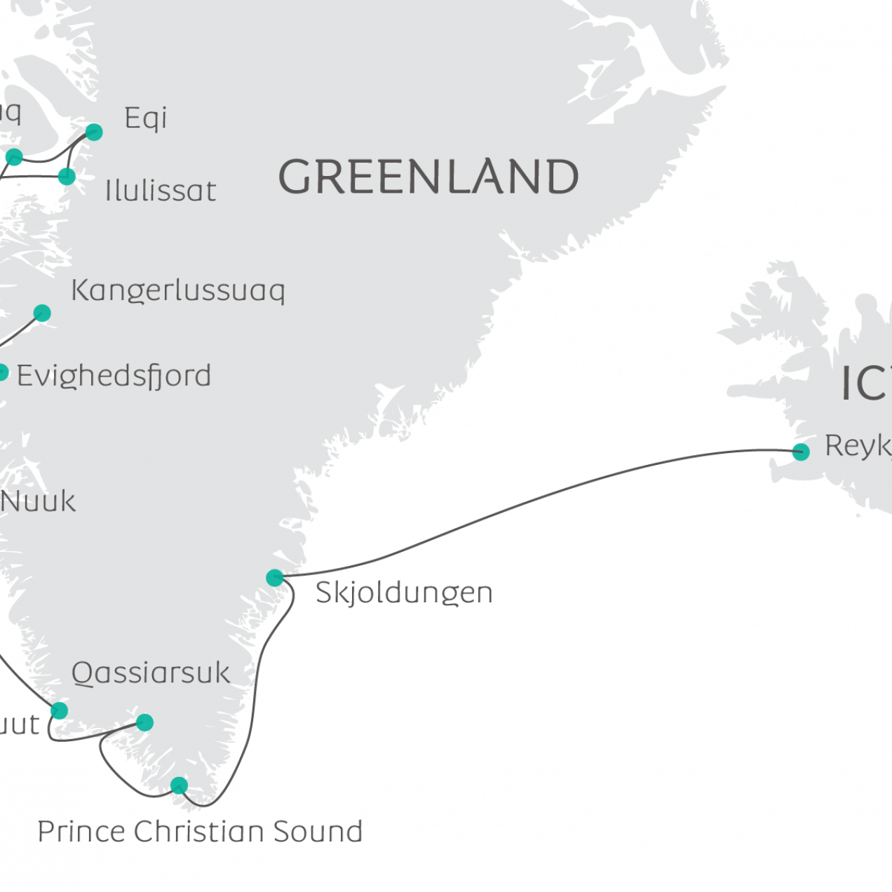 map_in_the_wake_of_Eric_the_red_from_Greenland_to_Iceland