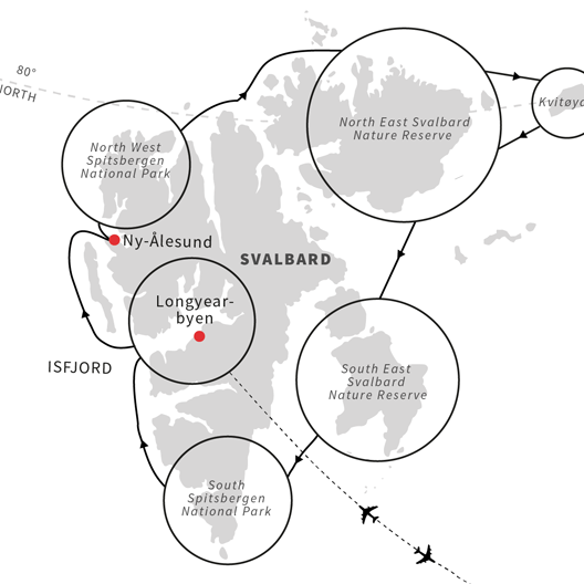 the-ultimate-svalbard-expedition-map