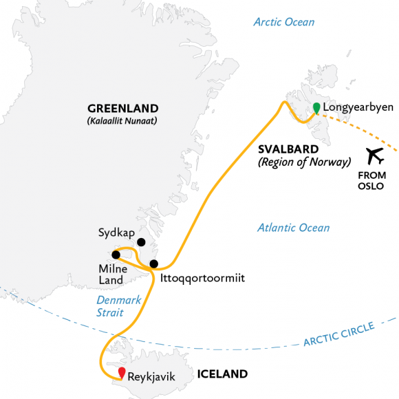 three-arctic-islands-spitsbergen-greenland-and-iceland-southbound-15d-2021-map